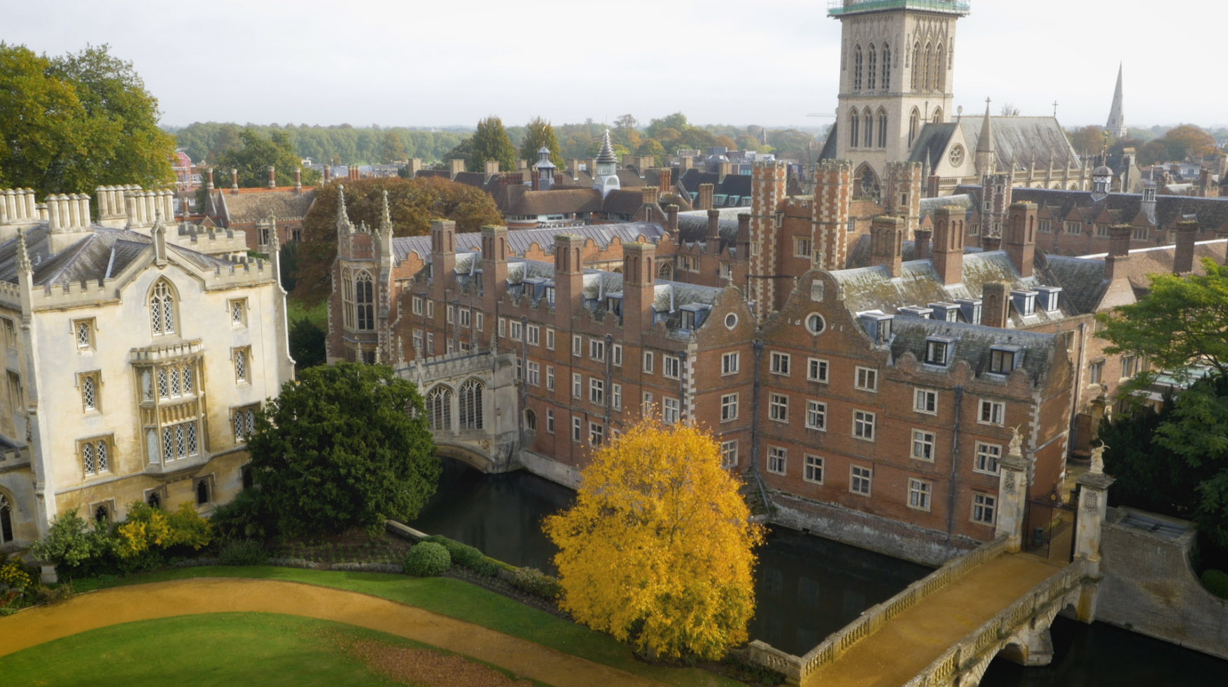 Cambridge from above