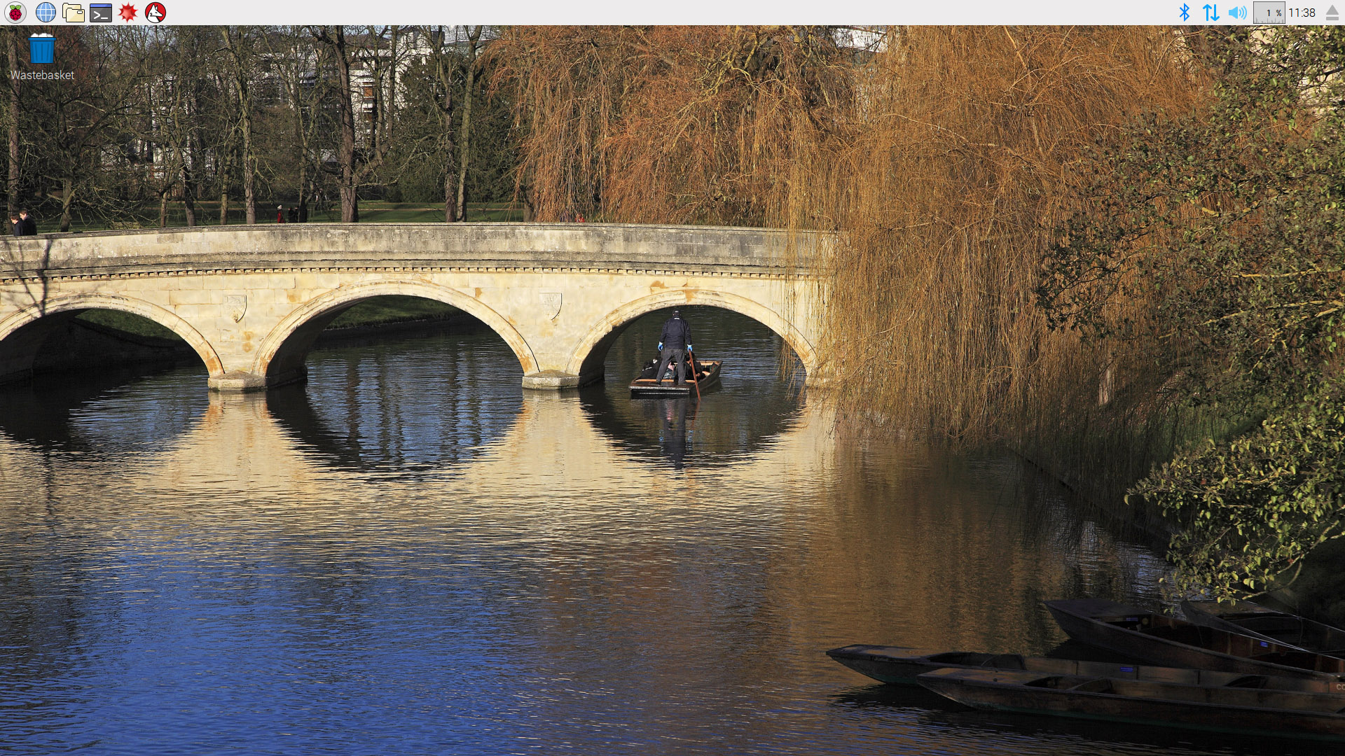 A bridge over the River Cam