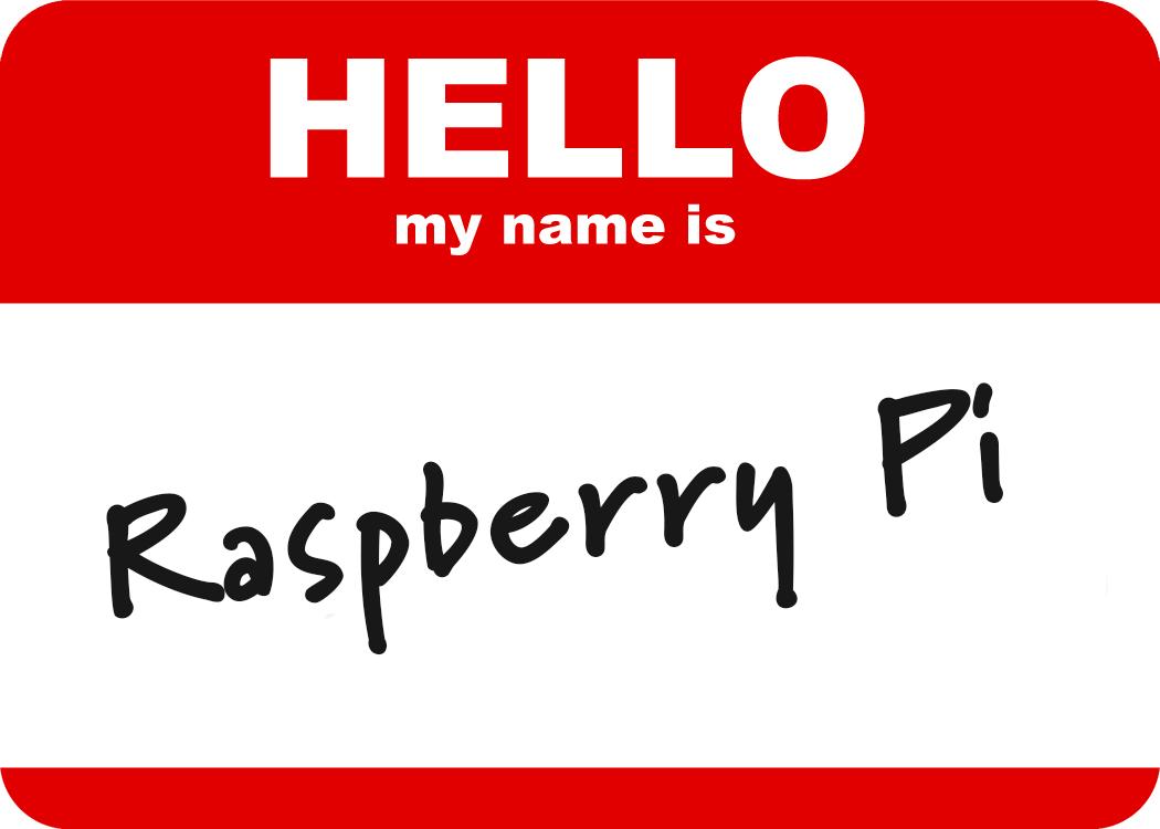 Raspberry Pi Name Badge