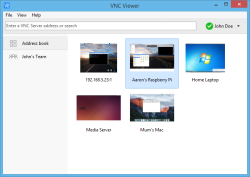 Get 'Back to my Pi' from anywhere with VNC Connect