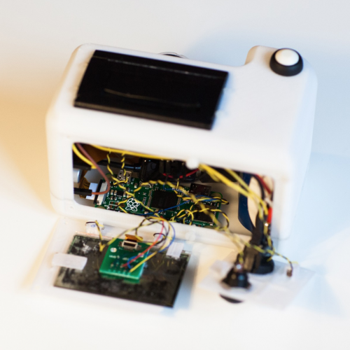 PolaPi-Zero: the tiny thermal-printing camera - Raspberry Pi