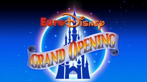 euro disney opening logo