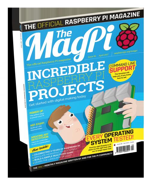 MagPi Magazine 56 cover image