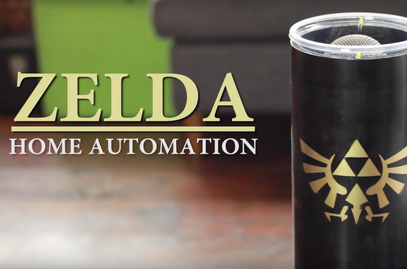 Zelda Home Automation with Raspberry Pi