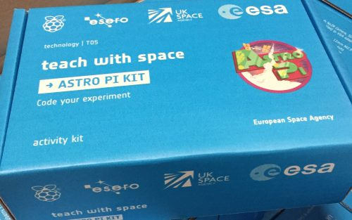 Image of Astro Pi kit box