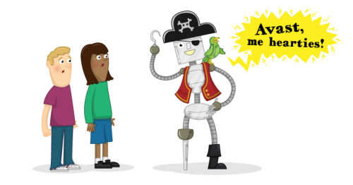 Raspberry Pi Free Resources Talk Like a Pirate