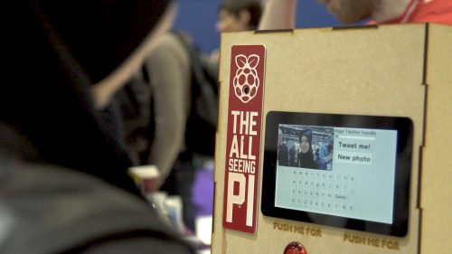 The All-Seeing Pi Raspberry Pi Photo Booth