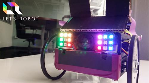 Let's Robot Raspberry Pi Jillian Ogle