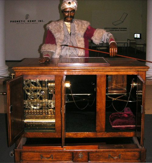 Image of the Mechanical Turk Automaton