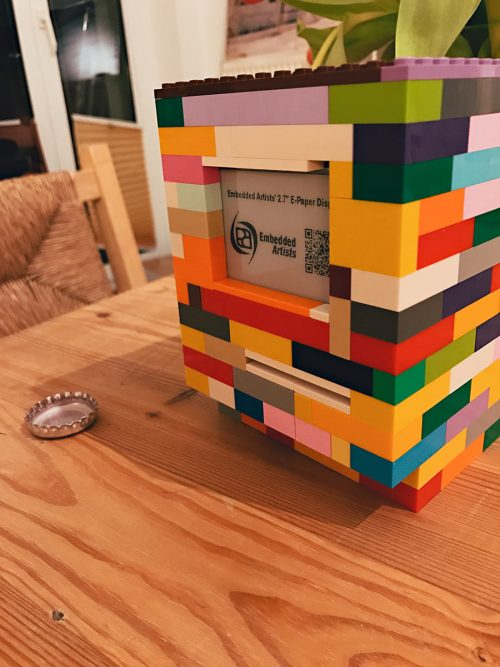 Jannis Hermanns Raspberry Pi LEGO Macintosh Classic