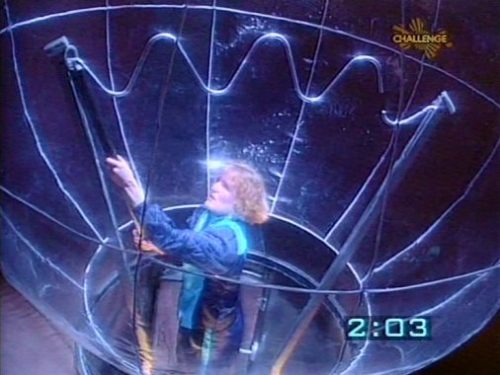 Crystal Maze Buzz Wire game screengrab