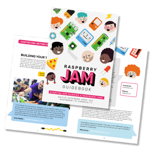 Image of Raspberry Jam Guidebook