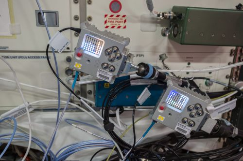 Raspberry Astro Pi units on the International Space Station
