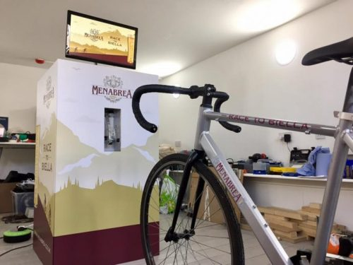 Menabrea Beer Bike Raspberry Pi
