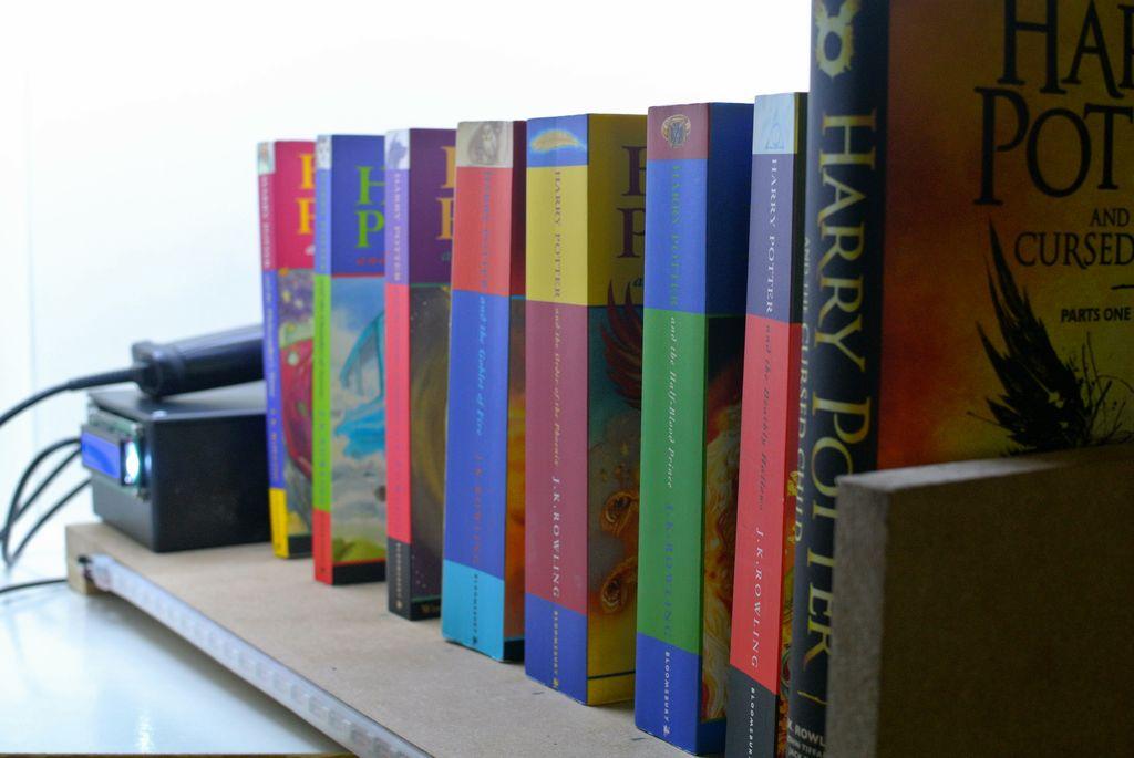 Shelfchecker smart bookshelf annelynn Raspberry Pi