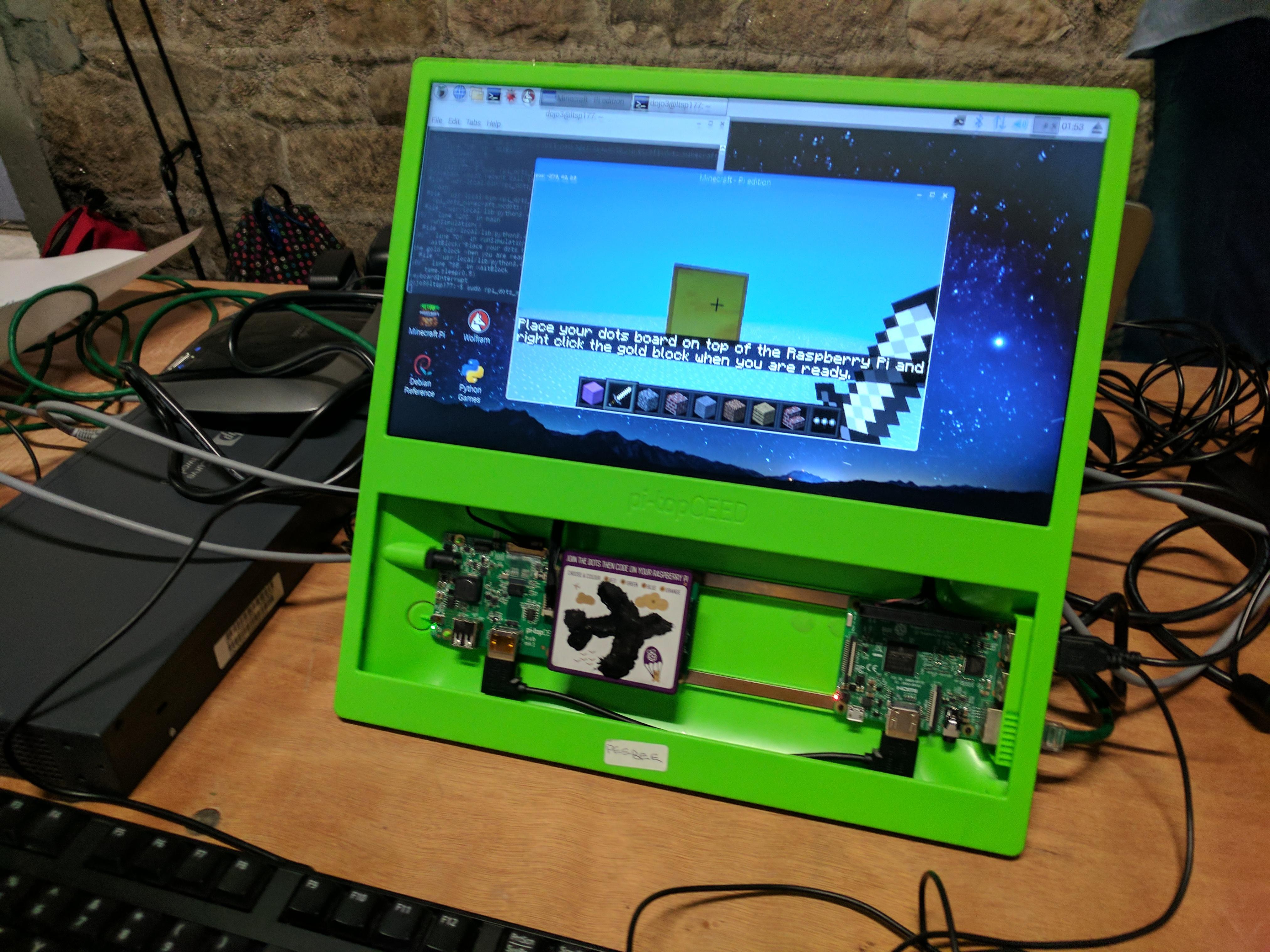 CoderDojo Coolest Projects 2017 - Raspberry Pi