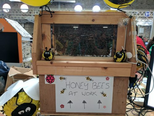 Coolest Projects 2017 live bees