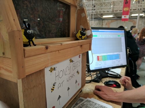 Coolest Projects 2017 Aimee's bees