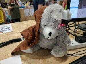 Coolest Projects 2017 face detection bear