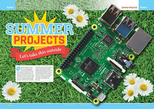 12 Summer Projects in The MagPi 59