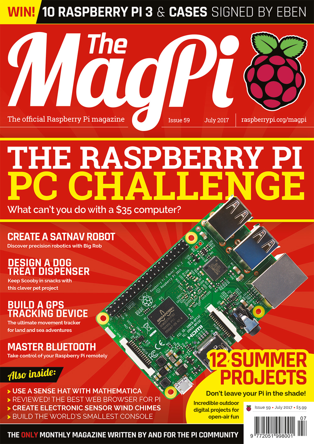 MagPi 59: the Raspberry Pi PC Challenge