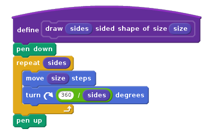 Custom shape-drawing block with Scratch 2.0