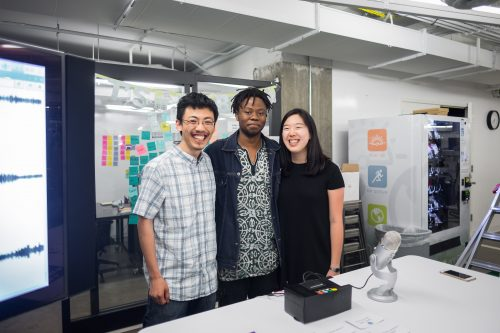 Eunice Lee, Matthew Zhang, Bomani McClendon - Sound Wave Raspberry Pi