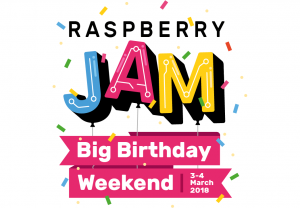 Raspberry Pi Big Birthday Weekend 2018