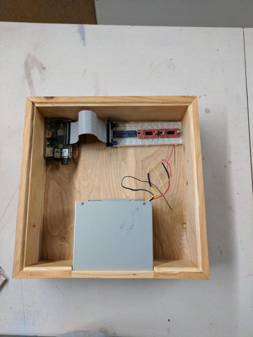 Raspberry Pi CNC Wood Burner
