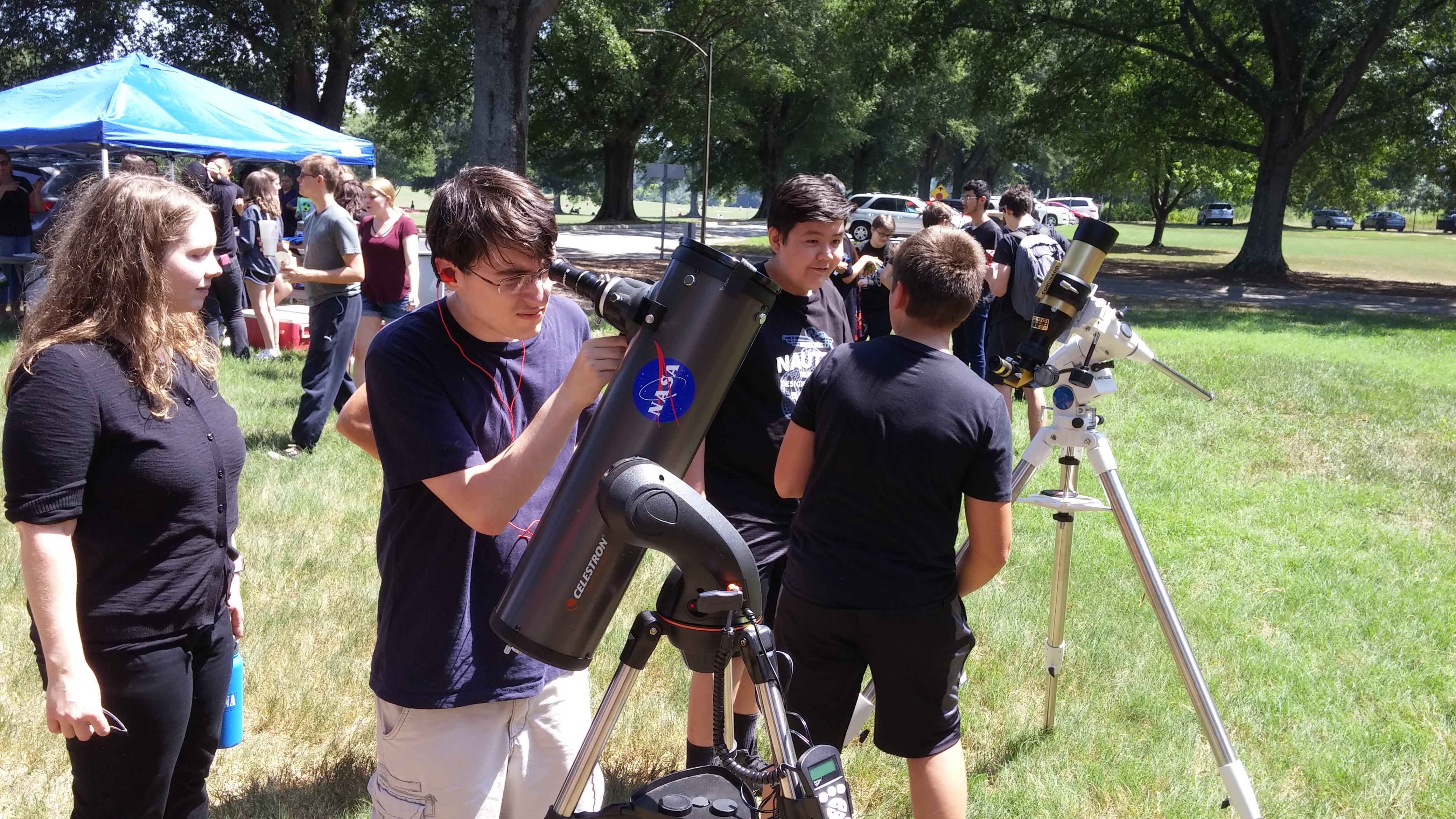 The Weather Station and the eclipse