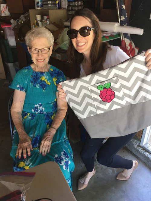 Amanda Haughs Raspberry Pi Tote Bag
