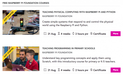 Futurelearn Raspberry Pi