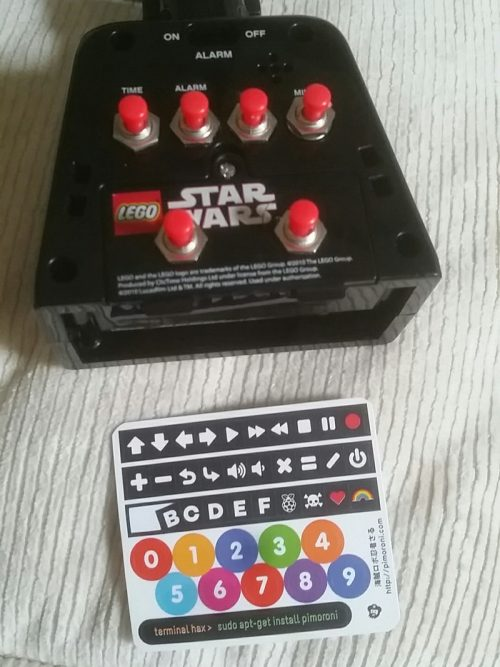 Darth Beats back buttons