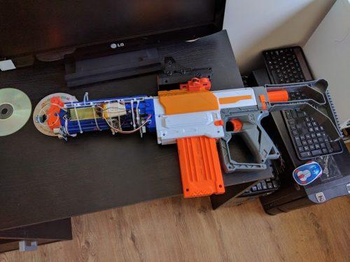 Michael Darby nerf gun