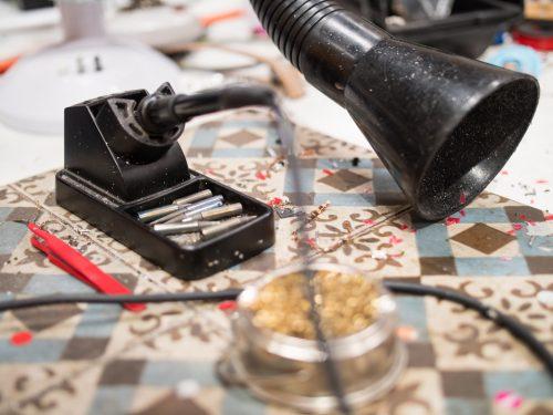 Pimoroni soldering