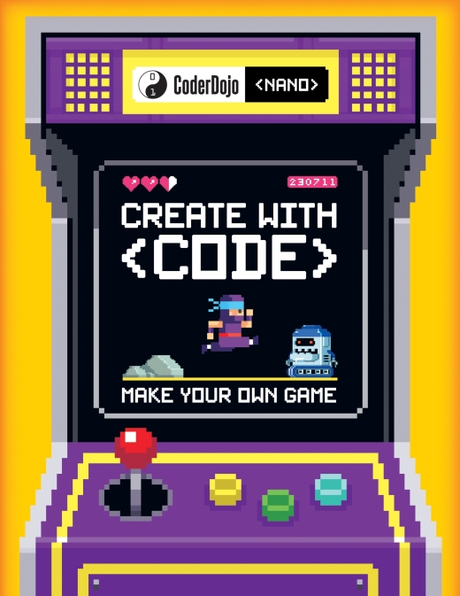 Make your own game with CoderDojo's new book