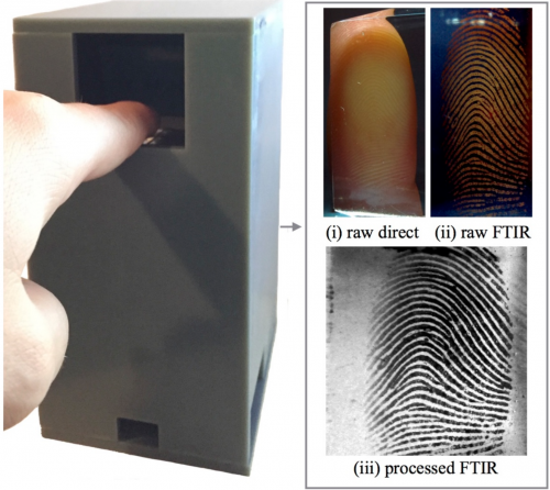RaspiReader fingerprint scanner by PRIP lab