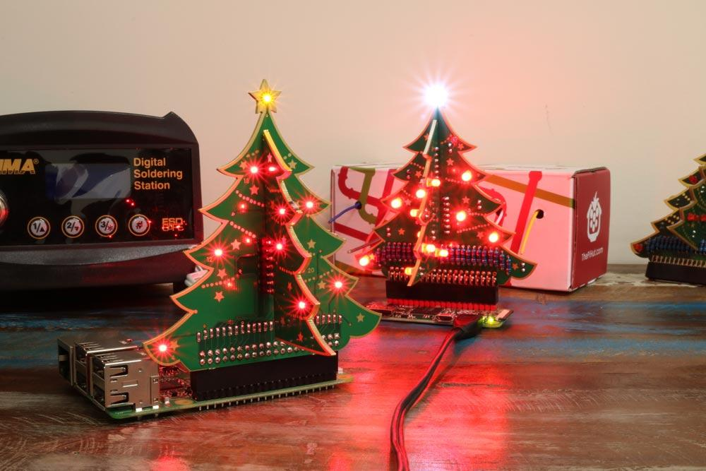 The Pi Hut's 3D Xmas Tree for Raspberry Pi