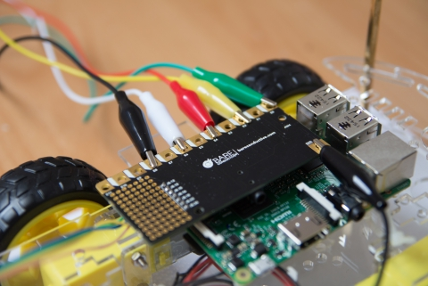 Raspberry Pi and bare conductive Pi Cap