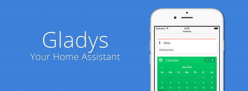 A screenshot of a mobile phone showing the Gladys app - Gladys Project home assistant
