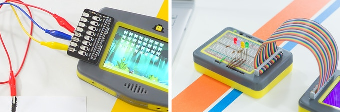 PipHAT and Breadboard add-ons - Curious Chip - Pip handheld device - Raspberry Pi