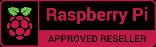 Raspberry Pi Approved Reseller logo - Raspberry Pi Brazil