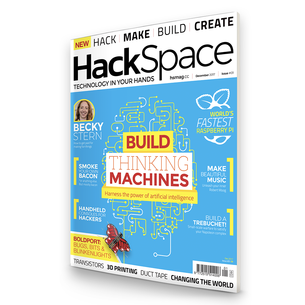HackSpace magazine #1 is out now!