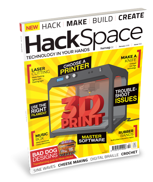 HackSpace magazine issue 2 cover