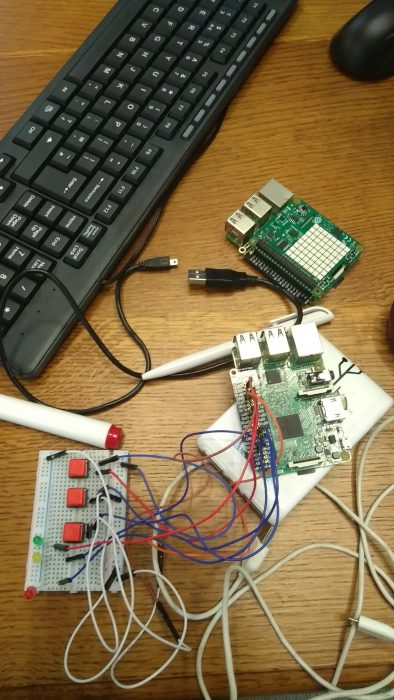 Secret Santa Babbage prototyping