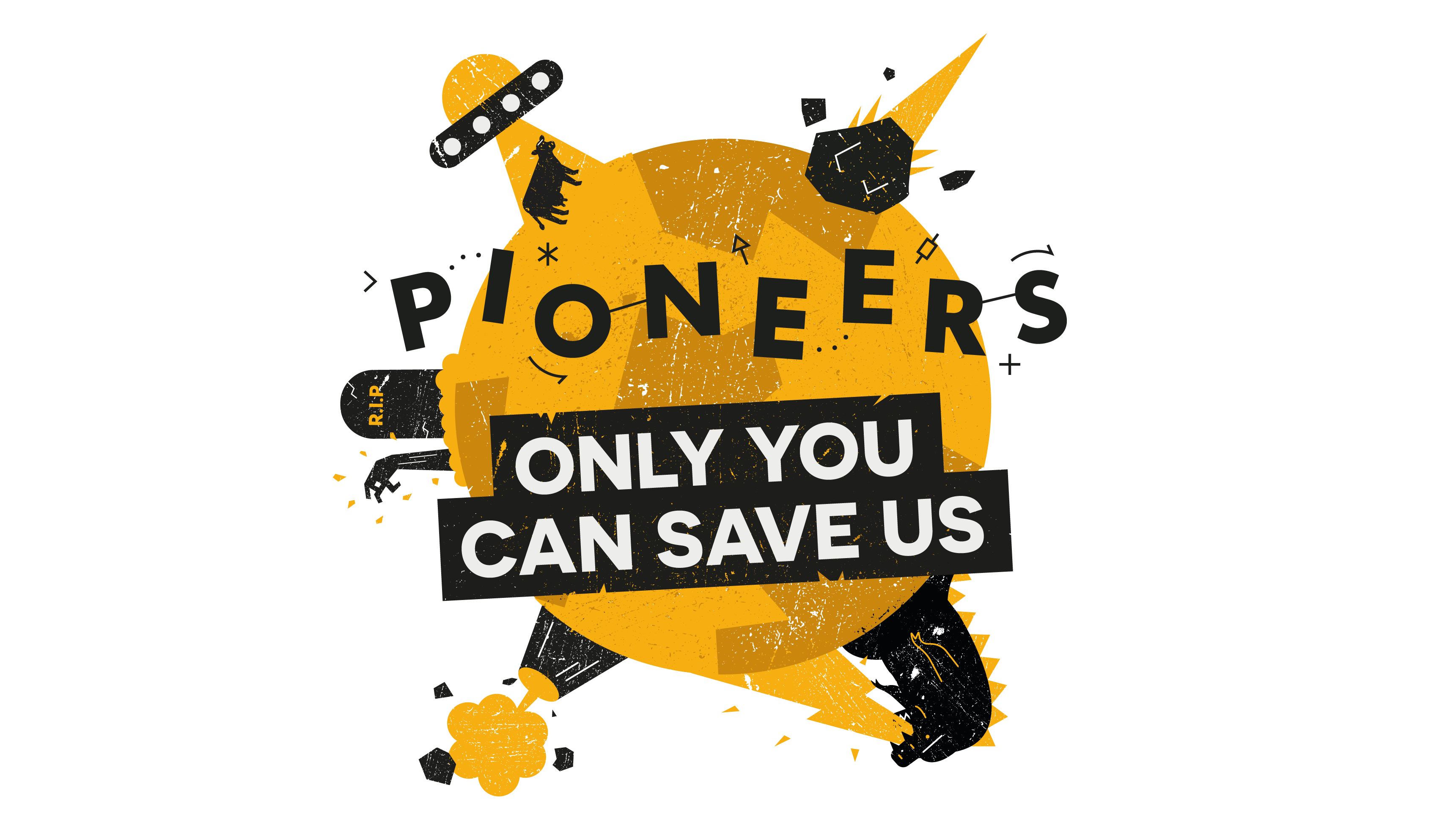 Pioneers winners: only you can save us
