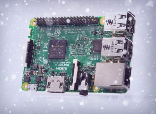 Thank you for my new Raspberry Pi, Santa! What next