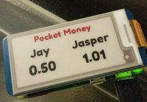 Monzo ePaper Pot Jason Barnett Raspberry Pi