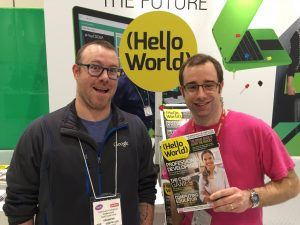 BETT 2018 Hello World Raspberry Pi