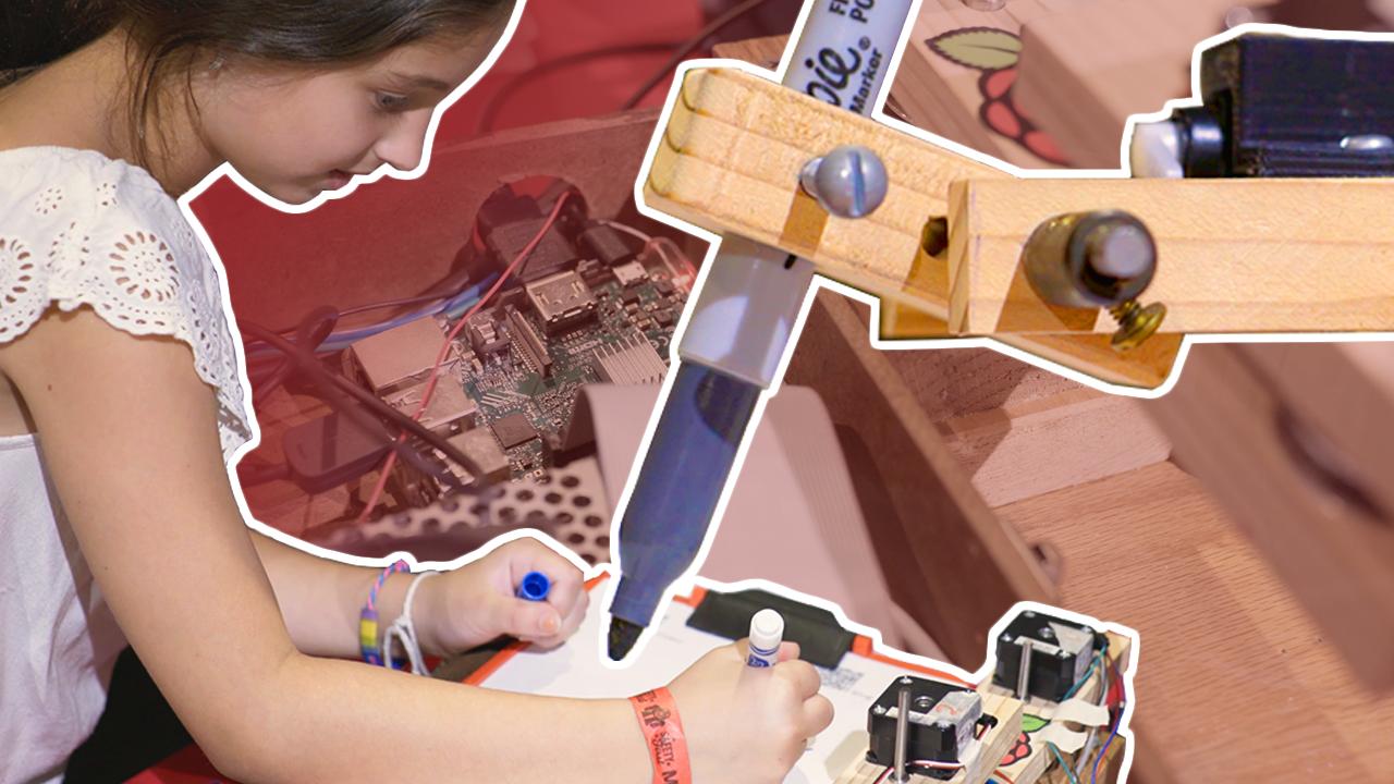 Toby Goebeler Tic-Tac-Toe arm Raspberry Pi